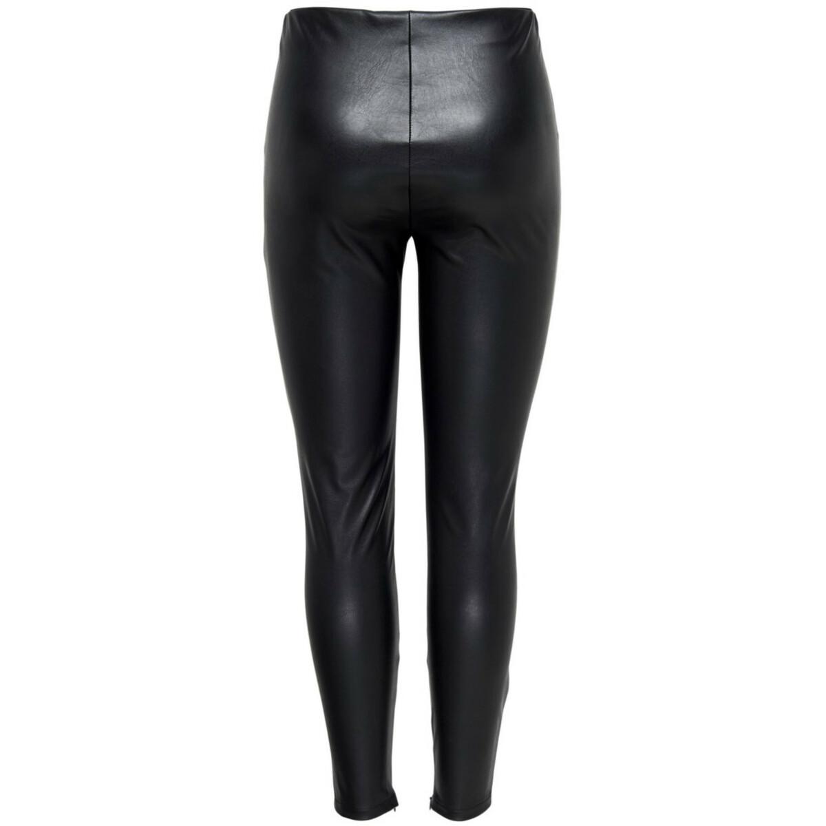 Bild 2 von Damen Only Fake Lederhose in schmaler Form