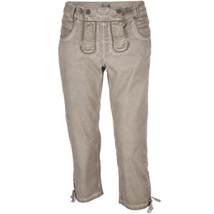 Damen Trachtenjeans in Oil Washed Optik