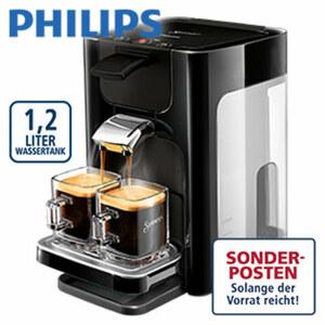Senseo® HD 7865/60 Quadrante · für 1 - 2 Tassen/Becher · patentierte Senseo®-Brühsystem · Kaffee-Boost-Technologie mit 45 Aroma-Düsen · Kalk-Indikator