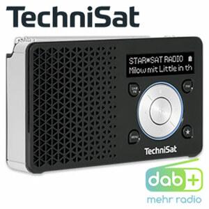 Portables DAB+-Radio DIGITRADIO 1 • UKW-/RDS-Tuner • OLED-Display • 3,5-mm-Klinken-Anschluss • bis zu 10 h Akkulaufzeit • integr. Lithium-Ionen-Akku