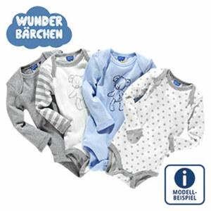 Baby-Body Kurzarm, 5-er Pack oder  Langarm, 4-er Pack,  Größe: 50/56 - 86/92, 2 NEHMEN, 15 € ZAHLEN!