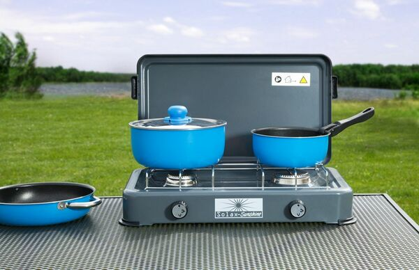 Solax-Sunshine 2-flammiger Campingkocher