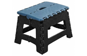 Klapphocker schwarz 36,5x30x32 cm