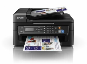 Epson WorkForce WF-2630WF (Tintenstrahldrucker, Scanner, Kopierer, Fax) mit WLAN