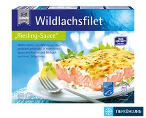 ALMARE Wildlachs mit Sauce