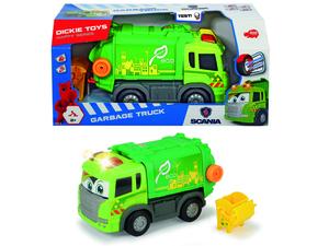 Dickie Toys - Spielfahrzeuge, Happy Scania Garbage Truck; 203816001