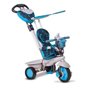 Dream Dreirad mit Schubstange und Sonnenschutz, verschiedene Farben