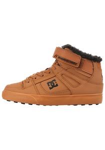 DC Pure Ht Winter Ev - Sneaker für Jungs - Braun