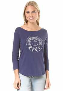 Roxy Soul Club B - Langarmshirt für Damen - Blau