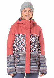 Roxy Jetty Block - Snowboardjacke für Damen - Rot