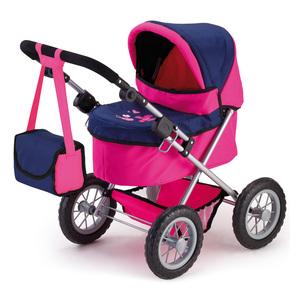 Puppenwagen Trendy pink/blau
