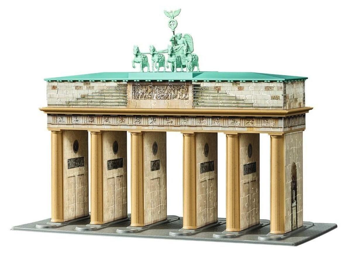 Bild 3 von 324 Teile Ravensburger 3D Puzzle Bauwerk Brandenburger Tor 12551