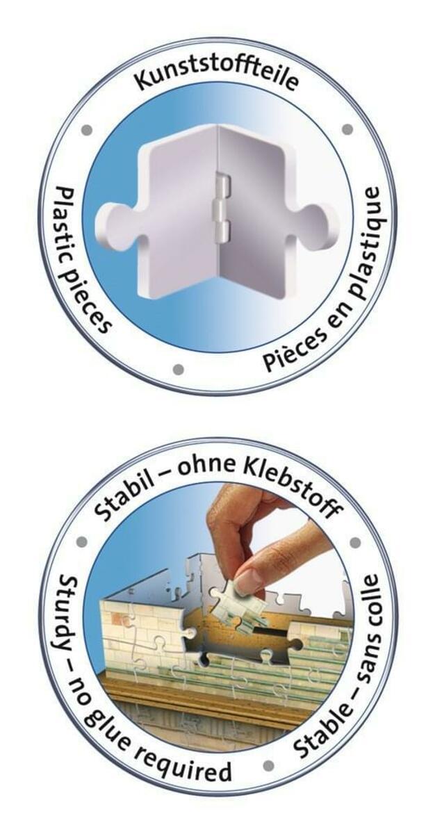 Bild 4 von 324 Teile Ravensburger 3D Puzzle Bauwerk Brandenburger Tor 12551