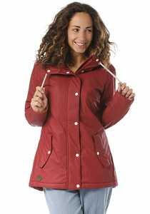 ragwear Marge - Jacke für Damen - Rot