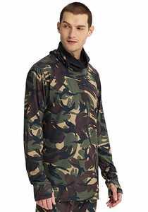 Burton Midweight Long Neck - Funktionsunterwäsche für Herren - Camouflage