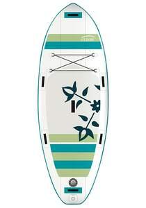 OXBOW River Air 7´6´´ SUP Board - Weiß