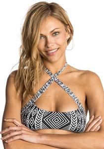 Rip Curl Black Sands Bra - Bikini Oberteil für Damen - Schwarz