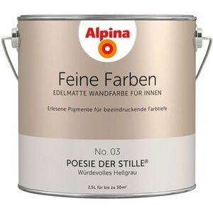 Alpina Feine Farben No. 3 Poesie der Stille edelmatt 2,5 l