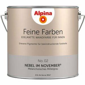 Alpina Feine Farben No. 2 Nebel im November edelmatt 2,5 l