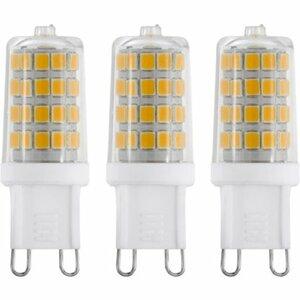 Eglo LED-Leuchtmittel 3er-Set G9/3 W 300 lm Warmweiß (3.000 K) EEK: A++