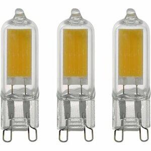 Eglo LED-Leuchtmittel 3er-Set G9/2 W 250 lm Warmweiß (3.000 K) EEK: A++