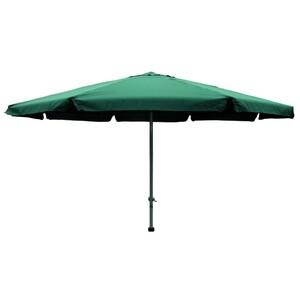 Sonnenschirm Ø4m grün Kurbelschirm Gartenschirm Schirm