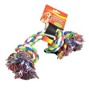 Hundespielzeug Spieltau farblich sortiert bunt groß Spielzeug