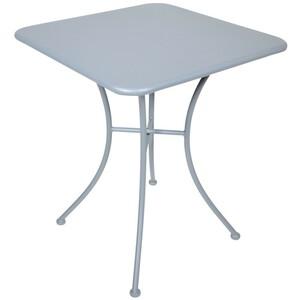 Gartentisch Da Vinci 60x60x72cm blueberry grey Metall Bistrotisch