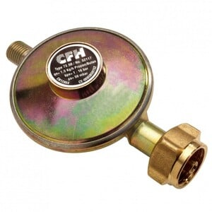CFH Druckregler DR117 50mbar Gasdruckregler Camping