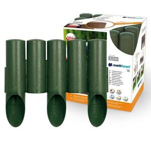 Rasenkante Palisade 2,3m grün 5er 25,5cm