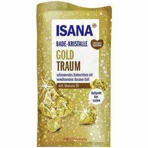 ISANA Bade-Kristalle Goldtraum 0.61 EUR/100 g