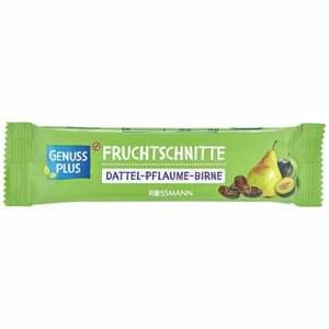 GENUSS PLUS Fruchtschnitte Dattel-Pflaume-Birne 1.23 EUR/100 g (25 x 40.00g)