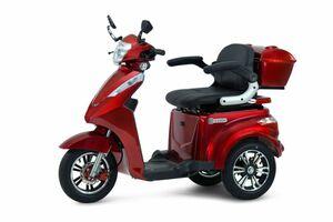 ECONELO S 1000 Elektro-Dreirad, rot