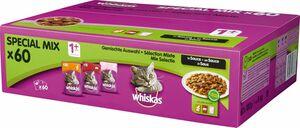 Whiskas 1+ Sauce 60x100g