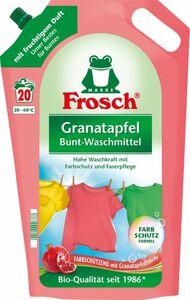Frosch Colorwaschmittel flüssig Granatapfel  20 WL 1,8 L