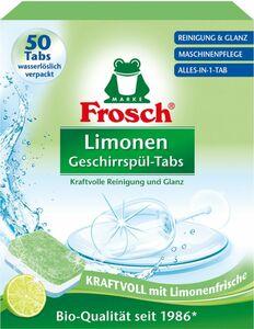 Frosch Geschirrspültabs Limone 50ST
