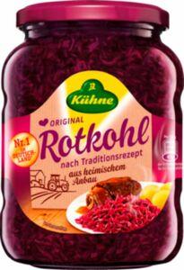 Kühne Rotkohl 650 g Abtropfgewicht