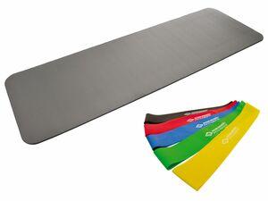 Schildkröt Fitness Fitnessmatte inklusive Fitnessbänder