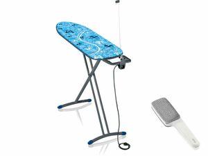 LEIFHEIT Set Bügeltisch Air Board M Solid Plus Blue