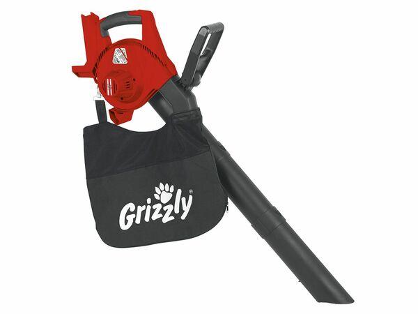 Grizzly Akku-Laubsauger ALS 4025 Lion Set mit 1 Akku 2,5 Ah / 1,25 h Ladegerät 40 V Akkusystem