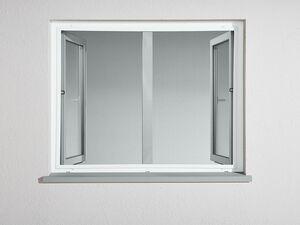POWERFIX® Alu-Insektenschutzfenster, 100 x 120 cm