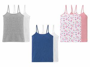 PEPPERTS® 2 Kinder Mädchen Unterhemden