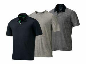 CRIVIT® Herren Funktionspoloshirt/-shirt