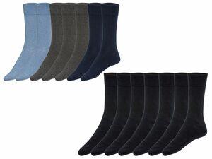 LIVERGY® 7 Paar Herren Socken