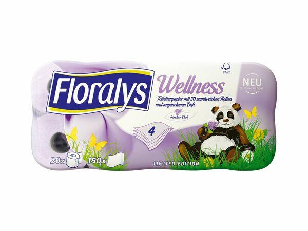 Wellness-Toilettenpapier