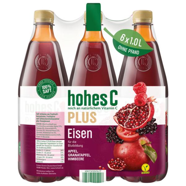 Hohes C Plus Eisen 6x1l
