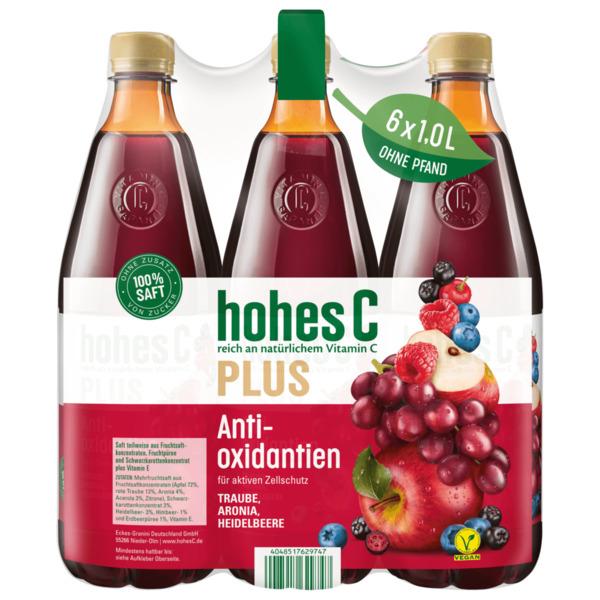 Hohes C Plus Antioxidantien 6x1l