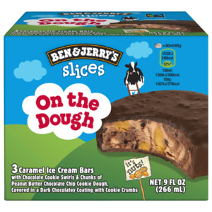 Ben & Jerry's slices On the dough Eis 3x89ml, 266ml