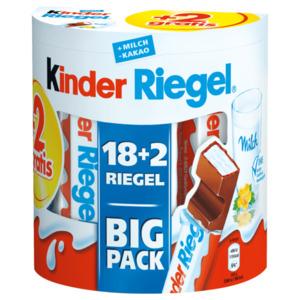 Kinder Riegel Big Pack 18+2 Riegel