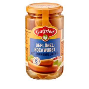 Gutfried Geflügelbockwurst